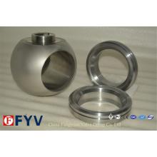 Bolas de válvula Ss de alta calidad para válvula de bola
