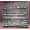 Cage d'élevage de pigeon galvanisé à 3 couches de 4 couches