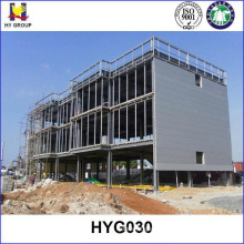 Prefabricated steel structure building for hotel