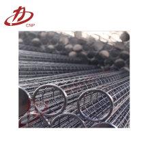 Colector de polvo industrial colector de filtro / jaula de bolsa de filtro