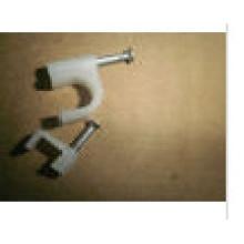 7-миллиметровые круглые / квадратные кабельные зажимы с пластиковым электрическим проводом