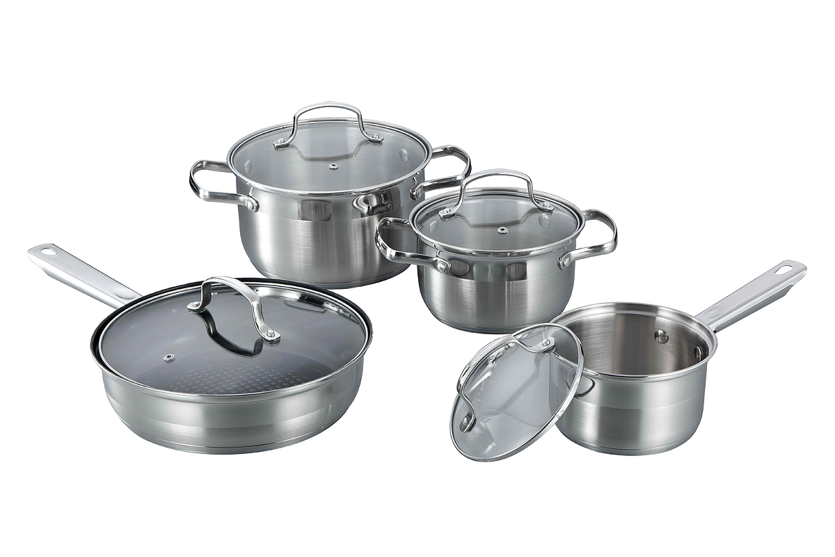8pcs wire handle cookware set JAPAN