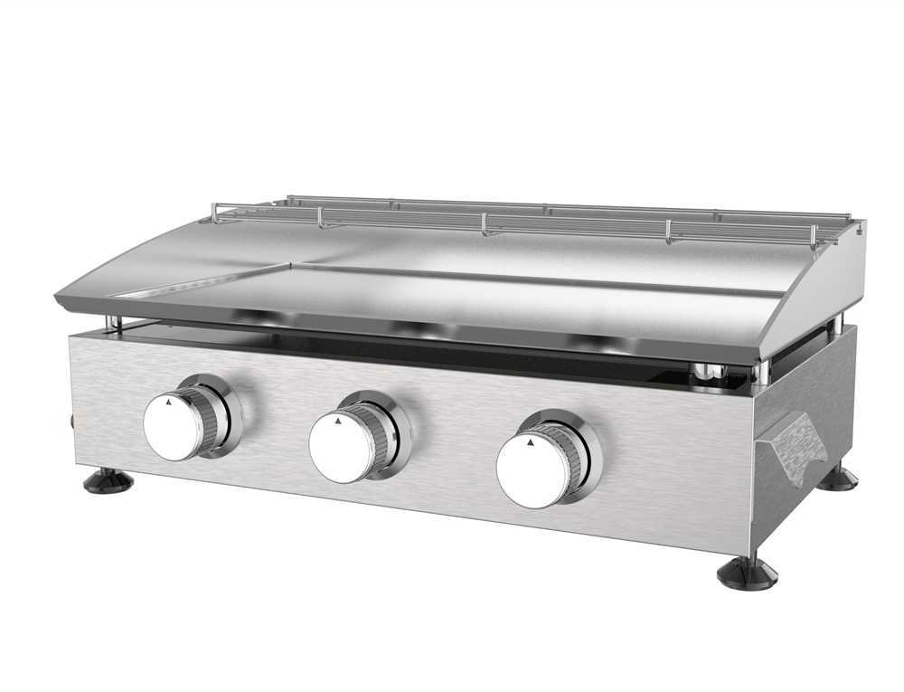 3 Table Top Gas Griddle