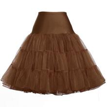 Grace Karin Women A-line Short Retro Dress Vintage Crinoline Rockabilly Underskirt Petticoat CL008922-18