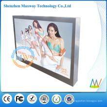 Monitor impermeável do écran sensível do ecrã ip65 de uma exposição exterior de 46 polegadas com brilho alto 2000 lêndeas