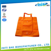 Plegable utilidad de gran tamaño personalizado plegable bolsas de la compra