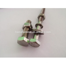 stainless steel bolt with nuts,bolt with nuts a2