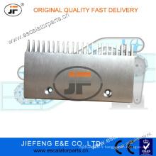 4090160000 JFThyssen Velino Escalator Comb Plate (Two Hole, 822 W / Lip) Plaque de Peignoir Escalator