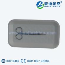 China supply disposable sterilization paper tray