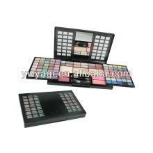 2014 cosmétiques plus récent gros maquillage Kits avec boîte en plastique Rectangle