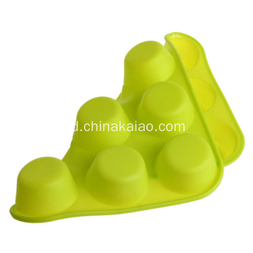 Custom Cupcake Mould Silicone Baking Tray