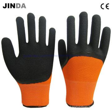 Latex Foam Coated Mechanic Work Gloves (LH307)