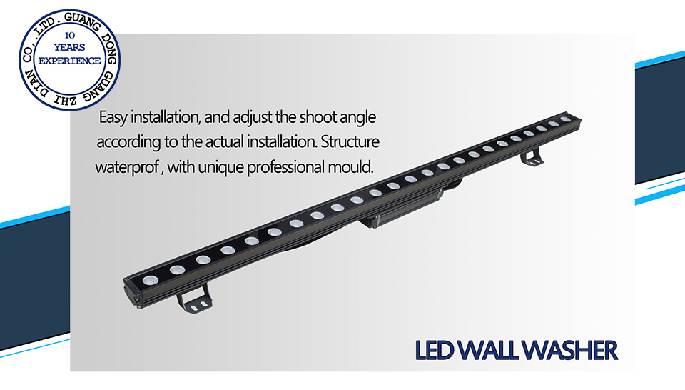 waterproof led wall washer