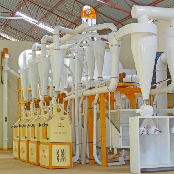 Tanzania 30T Maize Flour Milling Machine