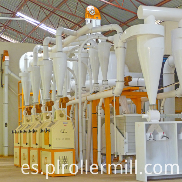 Tanzania 30T Maize Flour Milling Machine