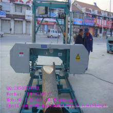 Máquina de serrería de banda de madera portátil de suministro de fábrica