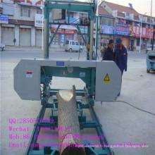 Machine portative de scierie de bande de bois de construction d'approvisionnement d'usine