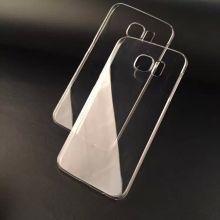 0.5 mm delgada transparente TPU teléfono celular caso de Samsung S6