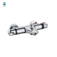 KWM-05 de lujo nuevo producto de latón termostático accesorios para el baño mezclador hotel cuarto de baño válvula de cerámica en la pared grifo de la ducha