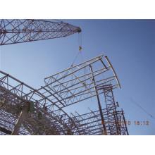 Leichte Stahlkonstruktion und Rohrfachwerk-Struktur-Werkstatt-Lager und Fabrik