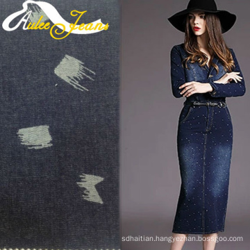 Textile design programs tweed fabric for denim short