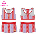 Plus Size Spandex Cute Cheer Outfits