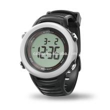 New Fashion Men Digital Stopwatch Date Waterproof Wristband Stopwatch