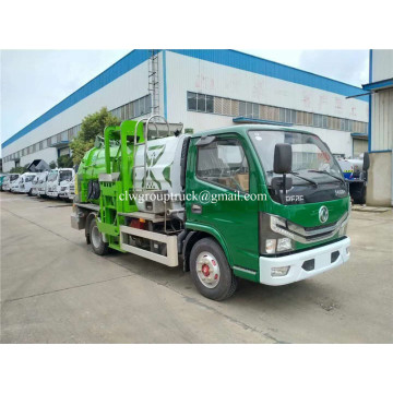 Carbon Steel 5CBM Box Volume Kitchen garbage truck