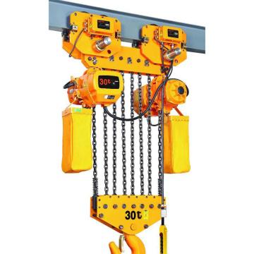 Polipasto eléctrico de cadena de 2 velocidades y doble velocidad