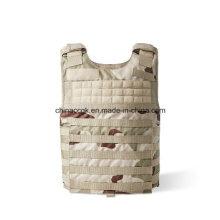 Desert Camouflage Kevlar PE Chaleco protector a prueba de balas táctico