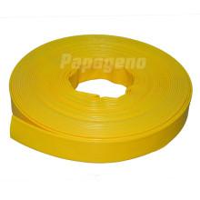 Yellow PVC Layflat Hose
