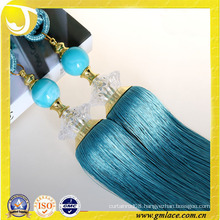 curtains designs rayon material curtain tassel tieback decoration for home textile