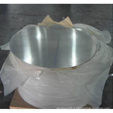 Bonne surface 1050 Ho / H14 Cercles en aluminium pour pan
