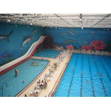 Крыша плавательного бассейна
