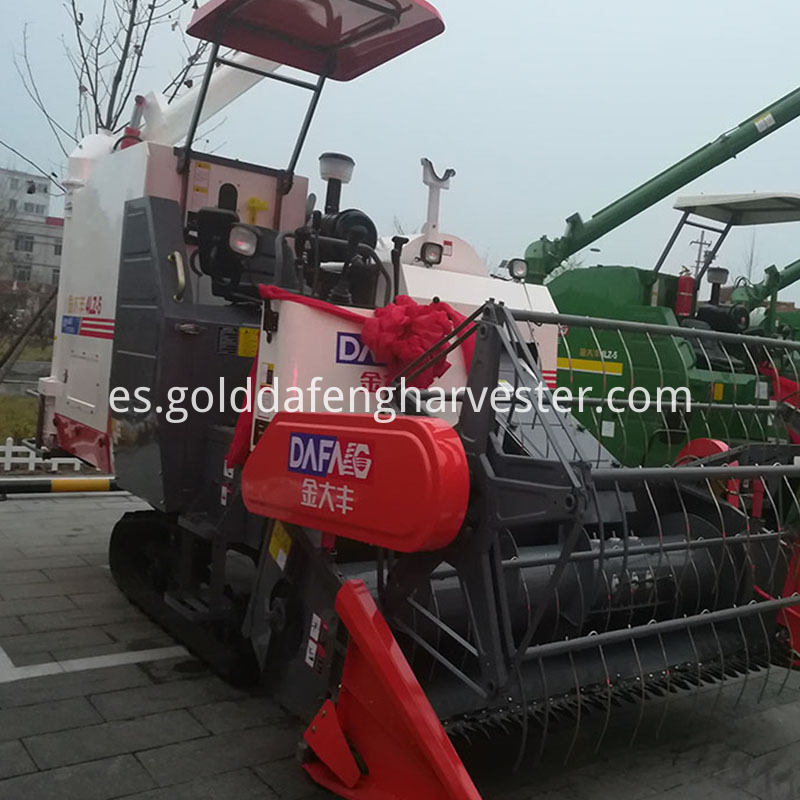 rice harvesting machine for Myanmar