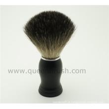 Hot Sale Silicone Handle Badger cabelo escova de barbear