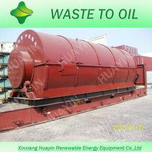 XinXiang HuaYin famosa marca 5/8/10/12 toneladas de residuos / planta de reciclaje de plástico usado para la venta