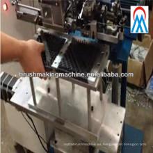 Máquina de tufting de cepillo de campo de nieve de dos ejes de alta producción de 2 ejes