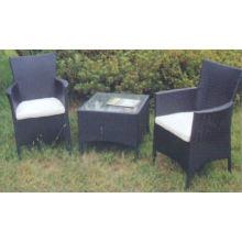 Stock wholesale rattan wicker furniture Bistro Set Accept Min Order