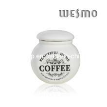 Almacenaje de cerámica de la cocina del caso de café (WKC0335A)