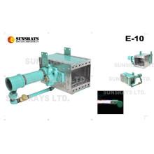 Luftheizbrenner (E-10) kann zum Vortrocknen der Farbe verwendet werden
