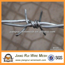galvanized double twist barbed wire(China manufacturer)