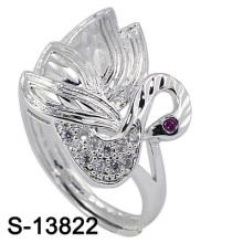 Nouvelle arrivée mode bijoux Peafowl forme bague en argent (S-13822)
