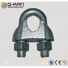 Qingdao Rigging Malleable Iron Clamp Din741 Wire Rope Clip
