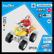 Boy toys with light and music motorcycle four wheels