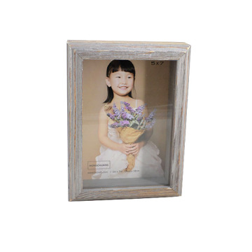 Antique Wooden Picture Frame for Holiday Gift