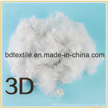 Solid Polyester Staple Fiber for 3D
