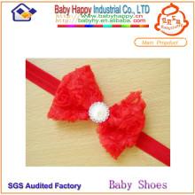 Beaucoup de style de la mode belle couleur bébé nœud bandeau