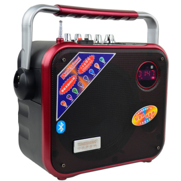 8 pulgadas Mini altavoz Bluetooth con NFC / FM Radio / SD / TF Card / USB Reader / MP3 F83