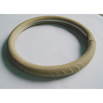 Car  Super Fiber Leather steering wheel cover